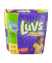 Luvs® Ultra Leakguards™ Size 5 Diapers 25 ct Pack