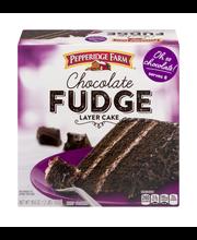 Pepperidge Farm® Chocolate Fudge Layer Cake 19.6 oz. Box