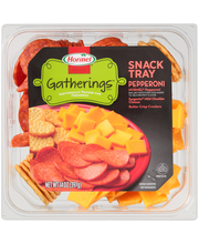 Hormel® Gatherings™ Pepperoni Snack Tray 14 oz. Container