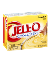 Jell-O® Lemon Cook & Serve Pudding & Pie Filling Mix 2.9 oz. Box