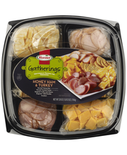 Hormel® Gatherings™ Honey Ham & Turkey Party Tray 28 oz. Container