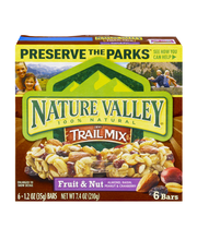 Nature Valley 100% Natural Fruit & Nut Chewy Trail Mix Bars