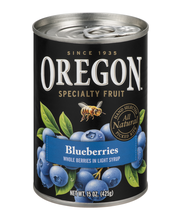 Oregon Fruit Products® Blueberries in Light Syrup 15 oz. Can