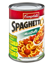 Campbell's SpaghettiOs Pasta with Meatballs 14.75 oz.