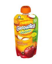 Gerber Graduates Grabbers Apple Sweet Potato with Cinnamon Sq...