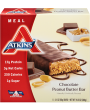 Atkins™ Chocolate Peanut Butter Meal Bars 5 ct Box