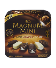 Magnum® Mini Classic Almond White Variety Pack Ice Cream Bars...