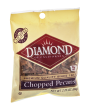 Diamond of California® Chopped Pecans 2.25 oz. Bag
