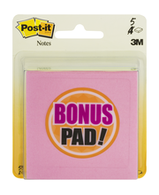 Post-It Multi-Colored Note Pads - 5 CT