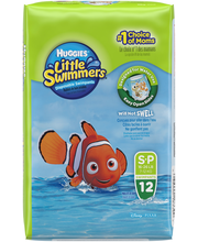 Huggies® Little Swimmers® Size S-P Disposable Swimpants 12 ct...