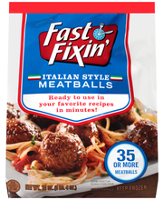 Fast Fixin'® Italian Style Meatballs 20 oz. Bag