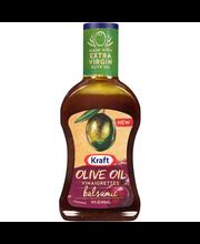 Kraft Olive Oil Vinaigrettes Balsamic Dressing 14 fl. oz. Bottle