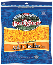 Cache Valley® Natural Finely Shredded Mild Cheddar Cheese 32 ...