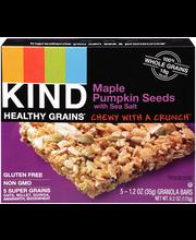 Kind Healthy Grains® Maple Pumpkin Seeds with Sea Salt Granol...