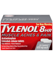 Tylenol® 8 HR Muscle Aches & Pain Reliever/Fever Reducer Capl...
