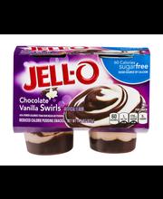 Jell-O® Sugar Free Chocolate Vanilla Swirls Reduced Calorie P...
