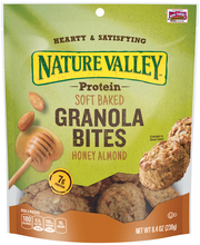 Nature Valley® Honey Almond Protein Soft Baked Granola Bites ...