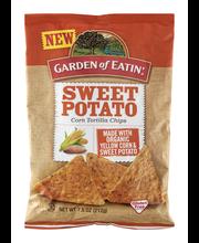 Garden of Eatin' Corn Tortilla Chips Sweet Potato