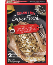 Bumble Bee SuperFresh® Tilapia With Lemon, Pepper & Herbs 8.2...