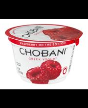 Chobani® Raspberry on the Bottom Non-Fat Greek Yogurt 5.3 oz....