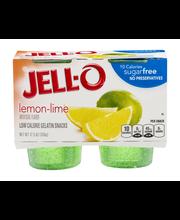 Jell-O® Sugar Free Lemon-Lime Low Calorie Gelatin Snacks 4 ct...