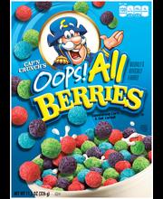 Cap'n Crunch's Oops! All Berries® Cereal 11.5 oz. Box