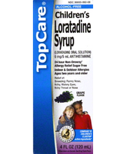 TOPCARE CHILD LRTDN SYRUP GRAPE