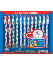 Jolly Rancher Original Flavors Candy Canes 12 ct Box