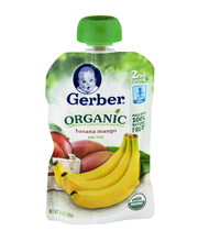 Gerber Organic 2nd Foods Bananas & Mangoes Baby Food 3.5 oz P...