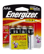 Energizer AA Batteries - 8 CT