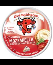 The Laughing Cow® Creamy Mozzarella Sun-Dried Tomato & Basil ...