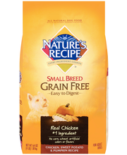 Nature's Recipe® Small Breed Grain Free Easy to Digest Chicke...