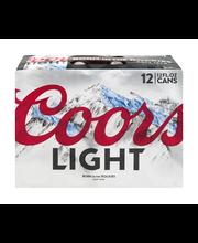 Coors Light® Beer 12-12 fl. oz. Cans