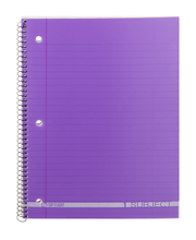 Top Flight 1 Subject Notebook Wide Rule - 90 Sheets