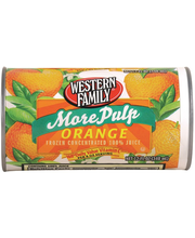 Wf More Pulp Orange Juice