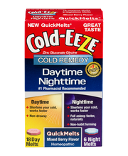 Cold-Eeze Cold Remedy Daytime Nighttime QuickMelts - 24 CT