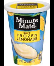 Minute Maid® Soft Frozen Lemonade 12 fl. oz. Cup