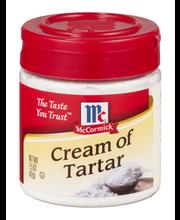 McCormick® Cream of Tartar 1.5 oz. Bottle