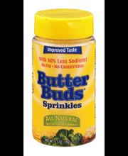 Butter Buds All Natural Sprinkles Butter Flavor Granules 2.5 ...