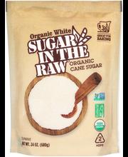 Sugar in the Raw™ Organic White Cane Sugar 24 oz. Stand-Up Bag