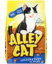 Alley Cat® Brand Cat Food Chicken & Tuna Flavors 3.15 lb. Bag