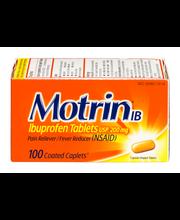 Motrin® Coated Caplets Ib 100 Ct Box