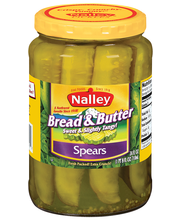 Nalley® Bread & Butter Pickle Spears 24 fl. oz. Jar