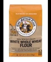 King Arthur Flour White Whole Wheat Flour 5 lb. Bag