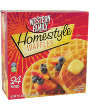 Wf Homestyle Waffles 24Ct