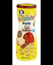 Gerber® Graduates® Apple Cinnamon Puffs Cereal Snack 1.48 oz....