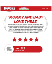 Huggies® Little Movers® Size 4 Diapers 56 ct Box