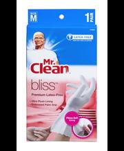 Mr. Clean Bliss Premium Latex-Free Gloves Size M