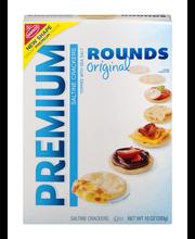 Nabisco Premium Rounds Original Saltine Crackers 10 oz. Box