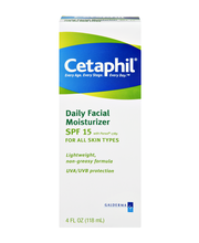 Cetaphil® Daily Facial Moisturizer with Sunscreen 4 fl. oz. Box